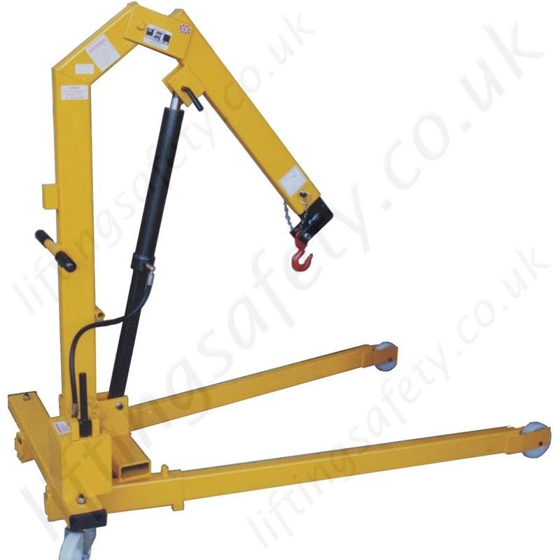 Manual Modular Knock Down Folding Floor Cranes Range