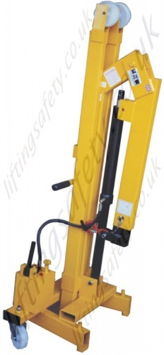 Knock-down Crane - Detachable Floor Crane for ease of storage and transportation