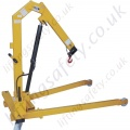 1000kg Floor Crane with Removable Legs