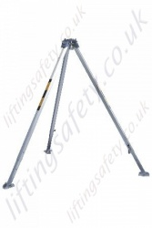 "Protecta ""AM100"" Lightweight Aluminium Adjustable Rescue Tripod suitable for Fall Arrest & Manriding Applications"