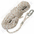 "Protecta ""AC2 Anchorage Line"" 3 Strand Twisted Polamide Rope. Terminations, Karabiner & Plain End - 14mm Diameter x . 5, 10, 15, 20, 25, 30, 40 or 50 metre"