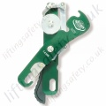"Protecta ""AG560"" Double Safety Manual Descender - Rope Diameter 9 to 12mm"