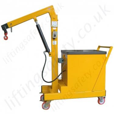 Power Lift Only Counterbalance Floor Crane