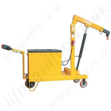 Power Lift Power Drive Counterbalance Floor Crane