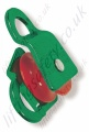 "Protecta ""AG570/1"" Single Sheave Height Safety Pulley with Moving / Rotating Aluminium Sides for Synthetic Ropes to Maximum Diameter 16mm"