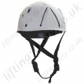 "Protecta ""AG580"" Height Safety Helmet, Lightweight and Peakless Design with 3 Point Chin Strap."