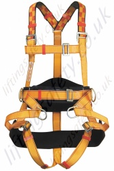 "Protecta ""Tree Surgeons"" Fall Arrest Harness with Front and Rear 'D' Rings & Work Positioning Belt."