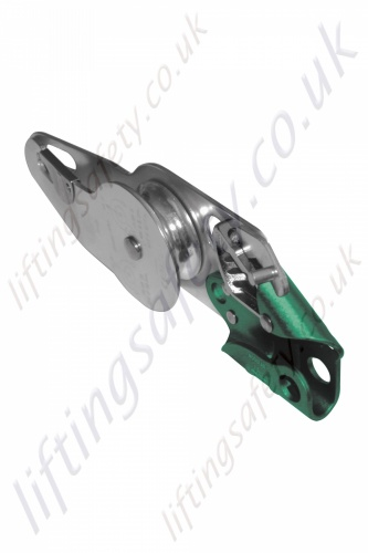 Protecta AG573 Single Aluminium Sheave Pulley with Integrated Brake