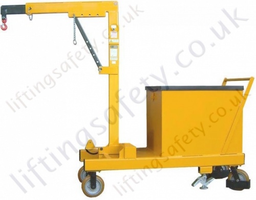 Rigid Arm Counterbalance Floor Crane