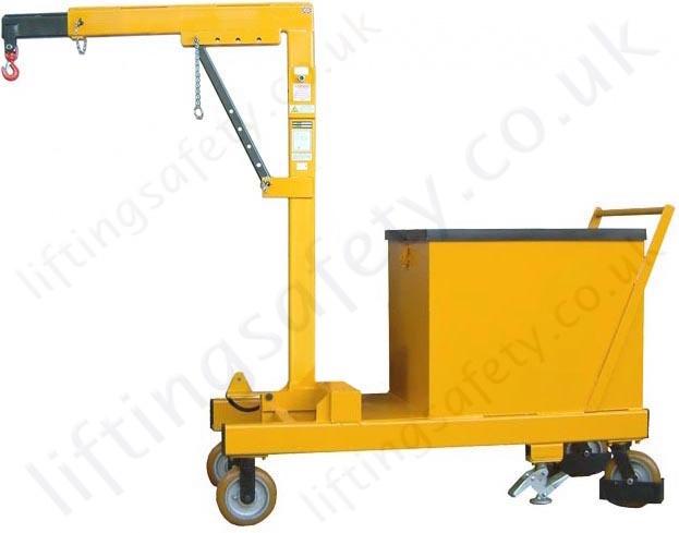 manual rigid arm counterbalance workshop floor crane with hand rh liftingsafety co uk manual crane lift manual crane lift