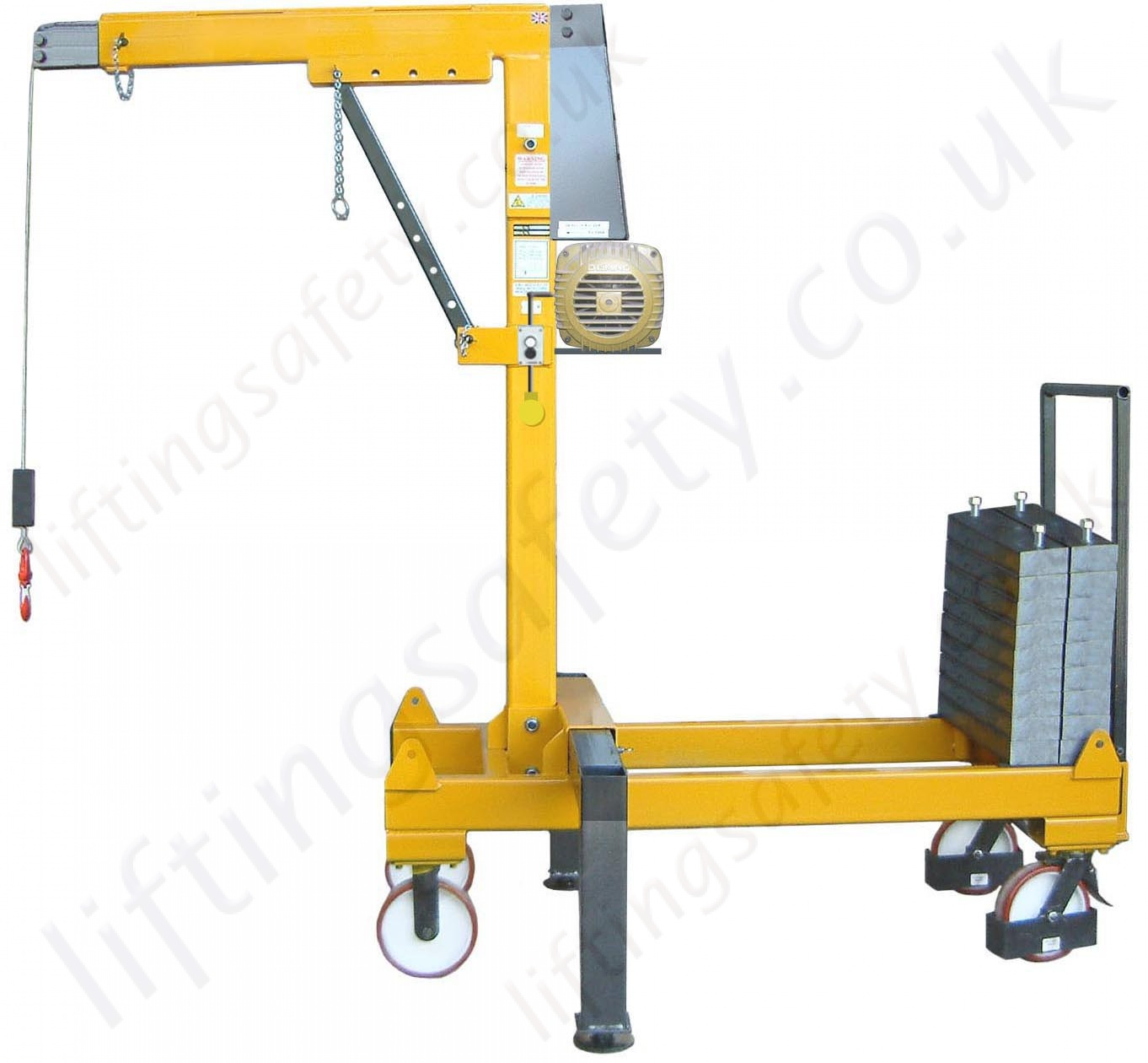 Manual Or Powered Rigid Arm Knock Down Counterbalance