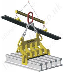 Camlok MR Multi Rail Clamp - Range from 5000kg to 8000kg