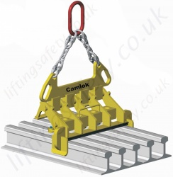 Camlok MR Multi Rail Clamp - Range from 5000kg to 12,000kg
