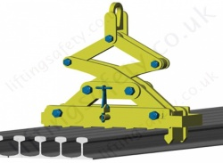 "Camlok ""MRC"" Interchangeable Multi Rail Grab - Range from 5000kg to 8000kg"