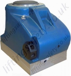 100 Tonne Screw Ram and Locking Collar Jack