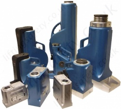 Lightweight Aluminium Hydraulic Jacks - Range from 20,000kg to 130,000kg