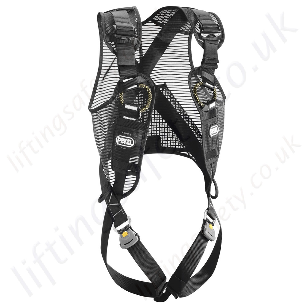 newton_fast_jak_black petzl fall arrest safety harnesses en361 height safety & fall