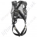 "Petzl Newton FJB ""Fast Jak Black"" 1 Point Fall Arrest Harness with Front Loops"