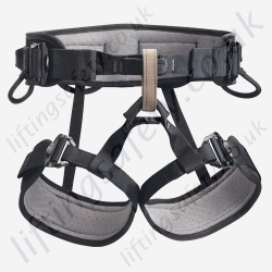 "Petzl ""Falcon Standard"" Black Mountain Rescue Sit Harness"