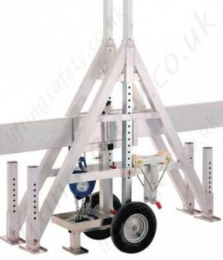 Crane Transporter - Shown with packed away gantry crane