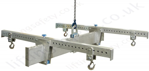 Aluminium 4 Point Adjustable Lifting Beam