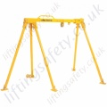 LiftingSafety Alloy Gantry Crane / Tripod combo, Certified for Man-riding (Fall Arrest) & Materials Lifting. 500kg