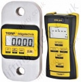 "Yale ""TZR"" Load indicator / Load Cell with Radio Remote Handset, Large 20.5mm LCD Display c/w case - Range from 1000kg to 20,000kg"