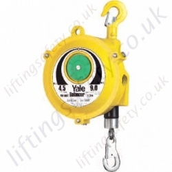 Yale YBF Quality Tool Spring Balancer - Adjustable Range from 0.5kg to 200kg, Cable Lengths Up To 2500mm (32 Options)