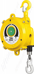 Yale YBA Spring Balancer With Integrated Fall Arrestor - Adjustable Range from 9kg to 70kg, Cable lengths Up To 2.3m (14 options)