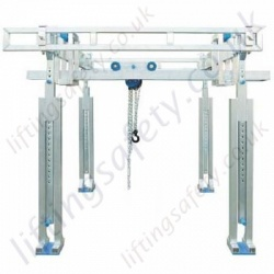 Portable Gantry Crane, Fully Adjustable Made To Customers Specification.