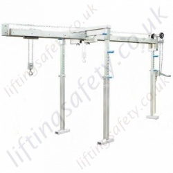 Cantilever Gantry Crane, Free Standing Portable Or Permanent Installation