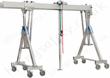 Twin Parallel Top Beam, Movable Under Load Gantry