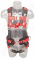"Protecta ""Pro"" 2 Point Fall Arrest Harness with Belt with Rear 'D' Ring, Front Loops, Size: S to XL"