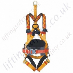 "Protecta ""Pro Electric"" Linesman Fall Arrest Harness with rear 'D' Ring & Front webbing Loops & Work Positioning Belt"