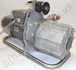 Electric Capstan Winch - Front Side