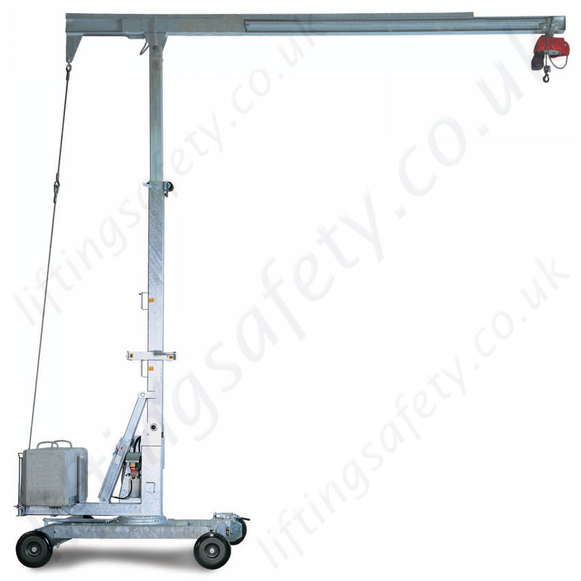 Portable Mini Cranes, 360 Degree Rotation, 6m HOL and 5 ...