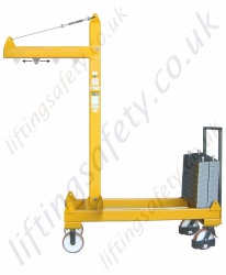 Knock-down Moving Load Crane