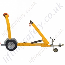 MANUAL - Trailer Floor Crane. For Easy Movement Around Site Or For Highway use - Range to 5000kg