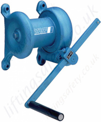 Pfaff SW-W SGG (WB) Wall Mounted Winches - Range from 250kg to 750kg