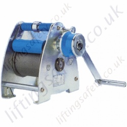 Pfaff Lambda Wire Rope Winch with a Capacity of 300kg