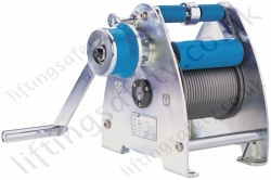 Pfaff LAMBADA wall mounted wire rope winch