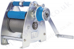 Pfaff SW-K Lambda Wire Rope Winch with a Capacity of 300kg