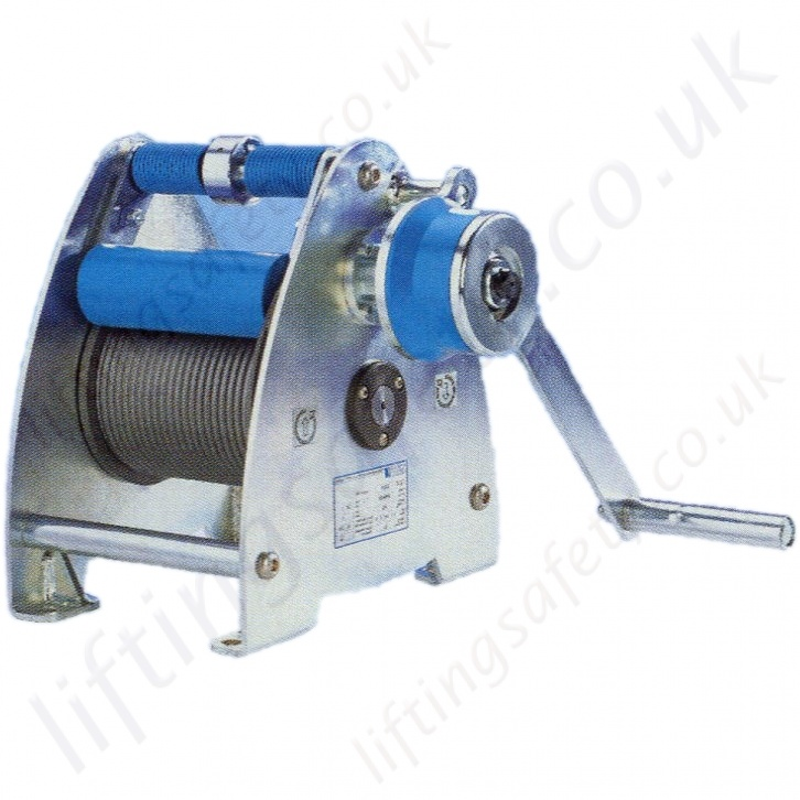 Pfaff Hand Winches, Hand Operated Wire Rope Hoists - 125kg to 5000kg ...