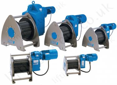 Pfaff BETA Proline elictric wire rope winches