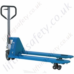 "Pfaff ""Quick Lifting"" Pallet Truck. Only 4 strokes to Full Height. Forks 1150mm x 540mm - 2000kg."