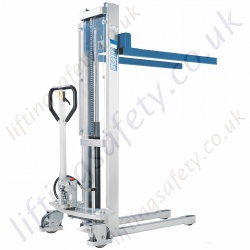 Pfaff Hydraulic Hand Stackers - 500kg or 1000kg Lifting Capacities, 900mm or 1600mm Lift Height
