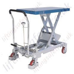 Pfaff Hx Scissors Lift Trolleys 150kg 750kg Lifting