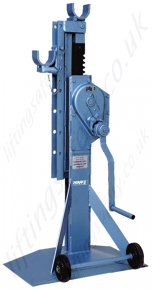 Pfaff Cable Drum Jacks Rack And Pinion Type Range From