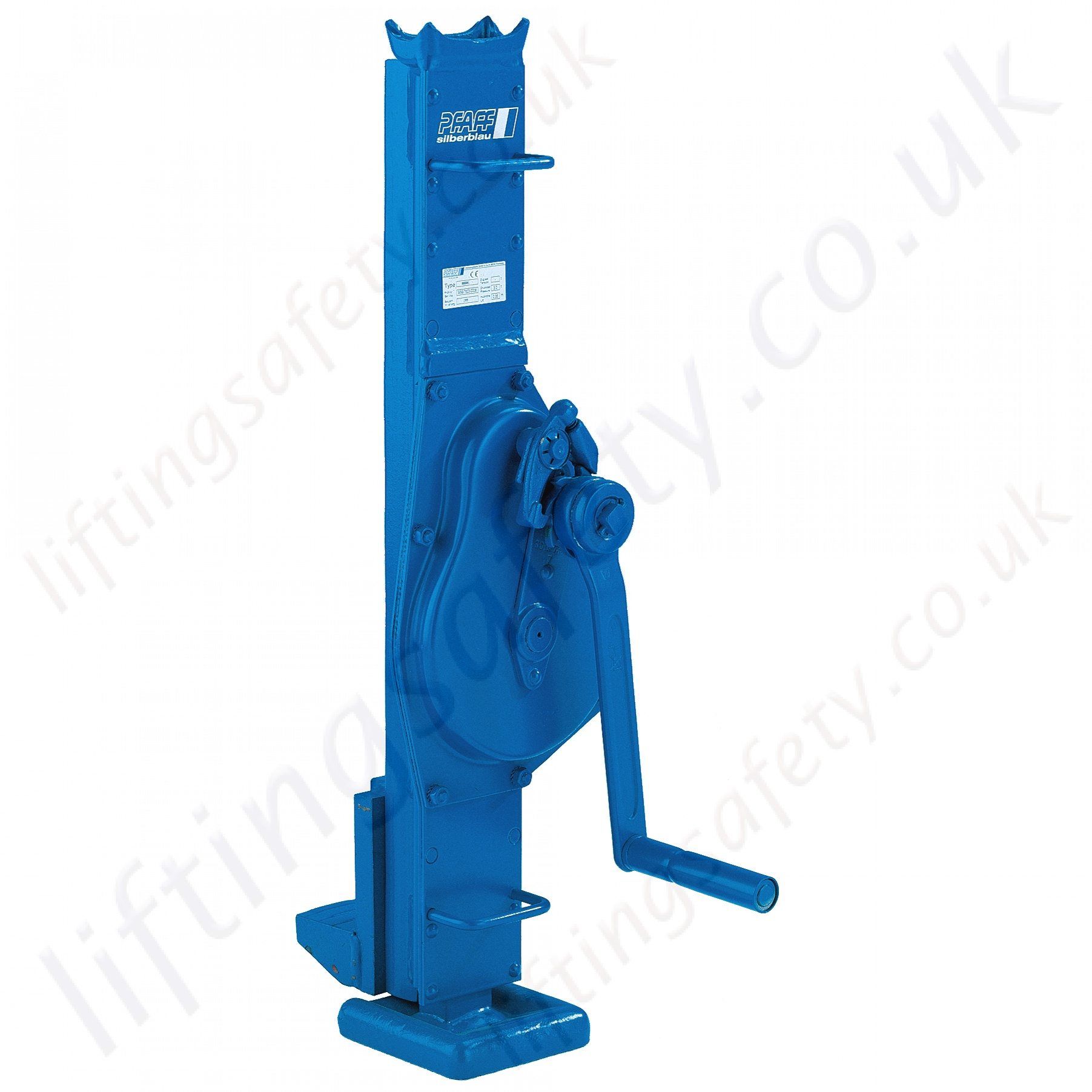 Hydraulic Jack Lifting Foundation For House : Pfaff stw v steel jacks adjustable lifting claw din