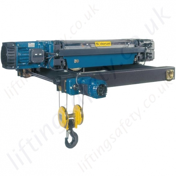 Donati Quot Drh Quot Overhead Crane Hoist Monorail Low Headroom